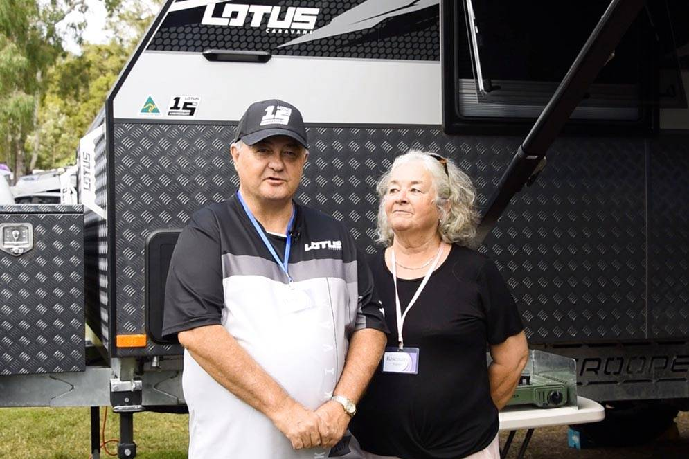 Lotus Owners: Mark & Rosemary Tramby