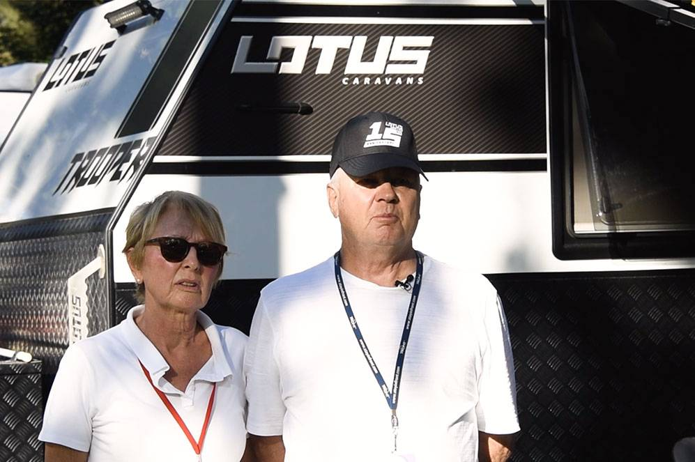 Lotus Owners: Ian and Sharon Pritchard