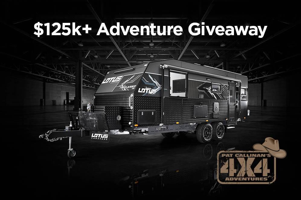 The Pat Callinan $125k+ Adventure Giveaway