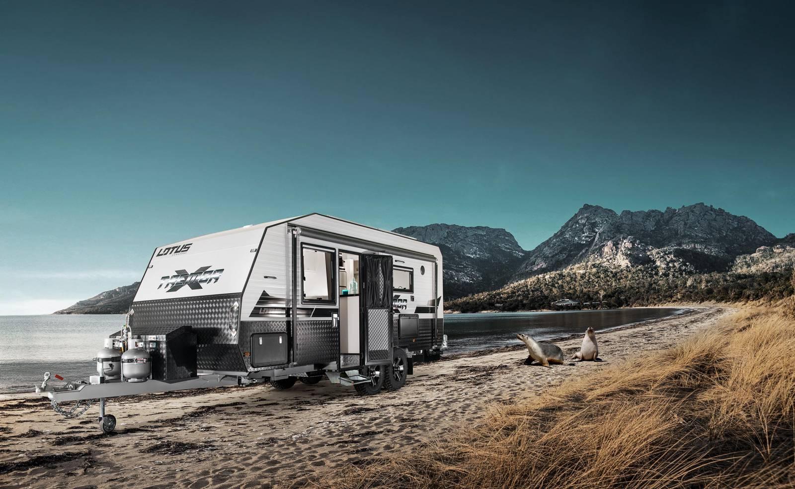 Tremor 2017: A new breed of caravan