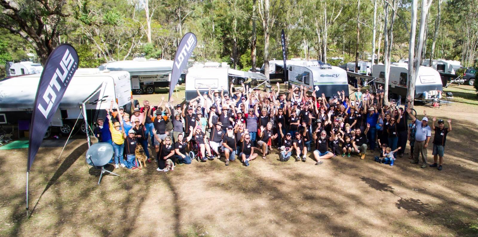 Join Lotus Caravans owners in Kilkivan, QLD