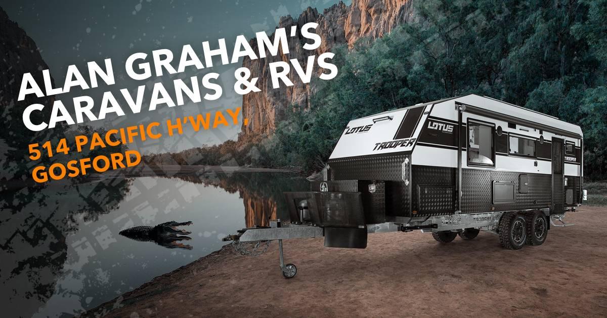 Alan Graham's Caravans & RVs sale starts Friday