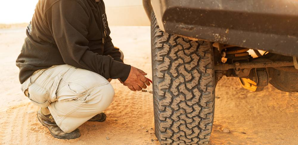 Tyre pressure tips for your tow vehicle