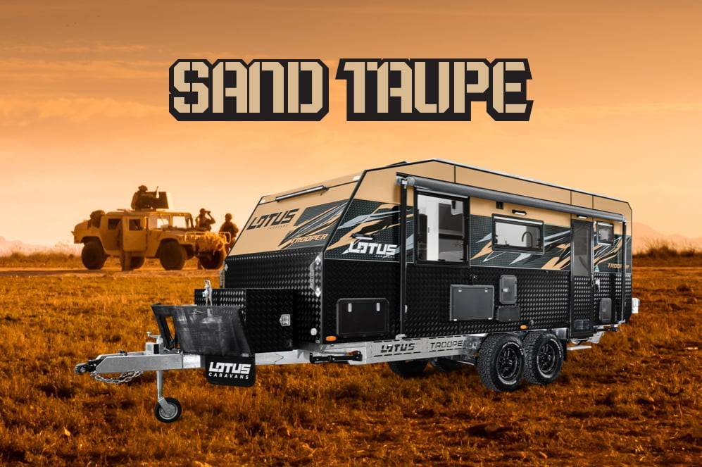 Introducing Our New Colour - Sand Taupe