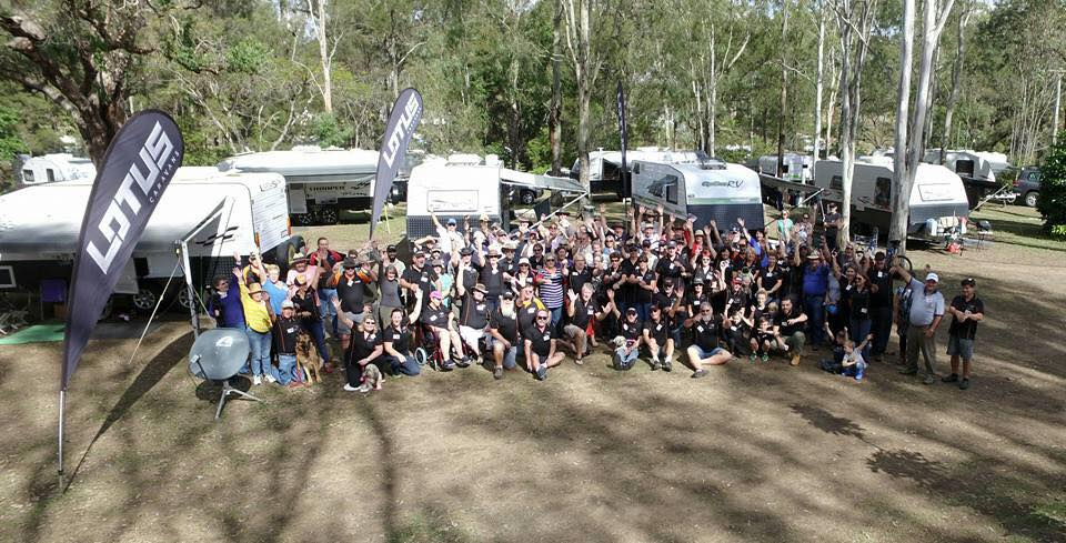 Lotus Caravans Owners Gathering 2018