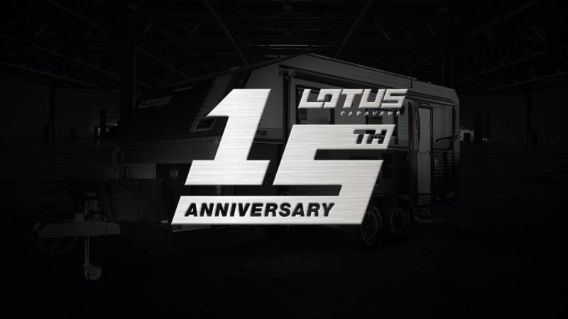 Lotus Caravans 15th Anniversary Launch