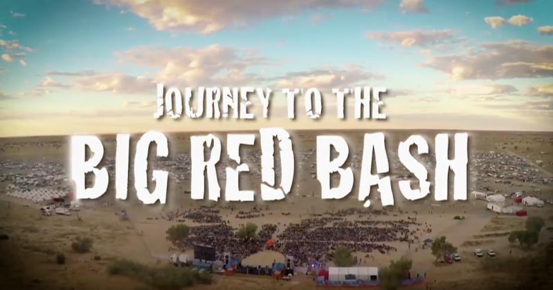 Journey to the Big Red Bash episode 1