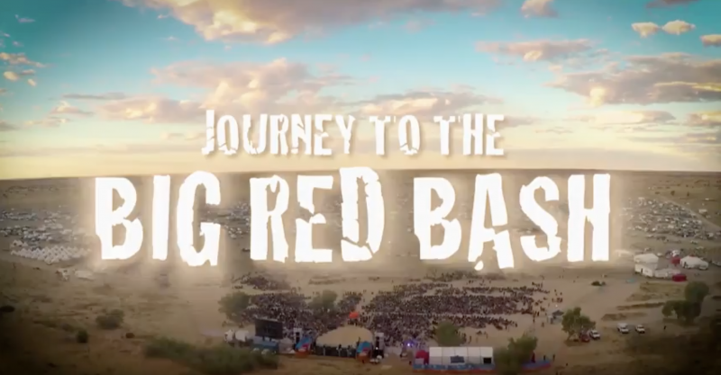 Journey to the Big Red Bash episode 2
