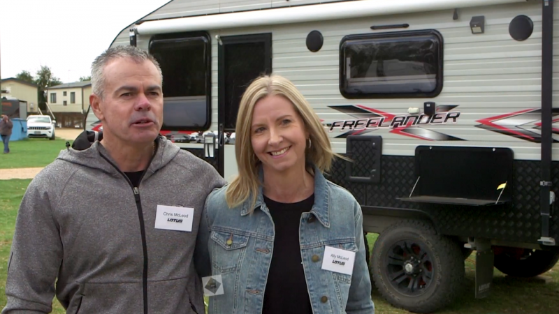 Lotus Caravan Owners: Chris and Ally Mcleod