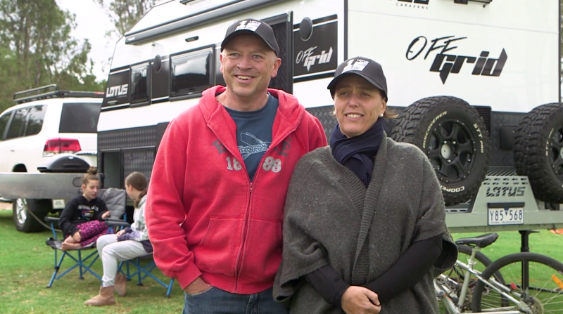 Lotus Caravan Owners: Susan and John Laukens