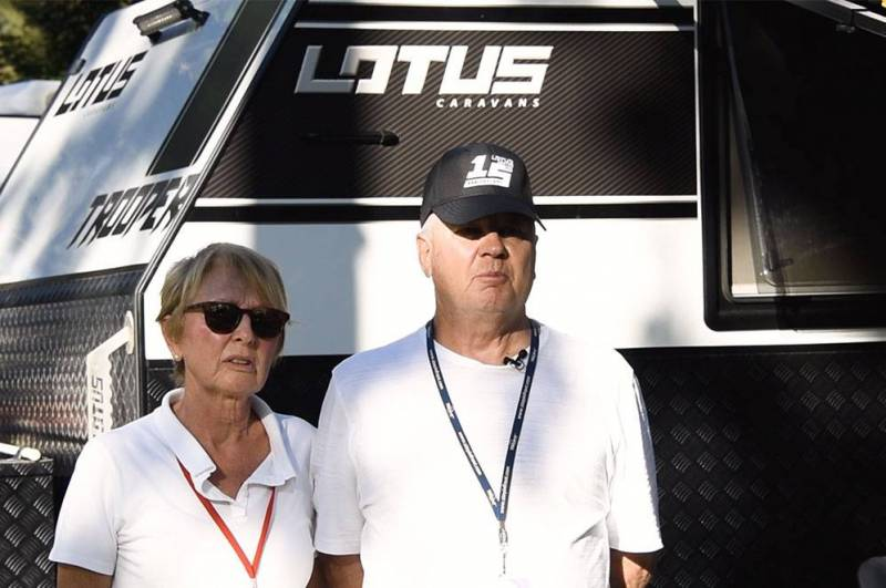 Lotus Caravans Owners: Ian & Sharon Pritchard