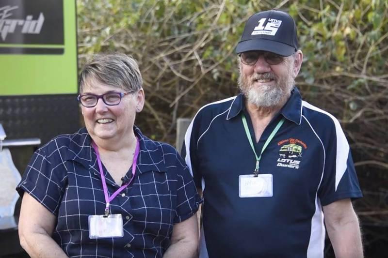 Lotus Caravan Owners: John & Vickie O'Malley