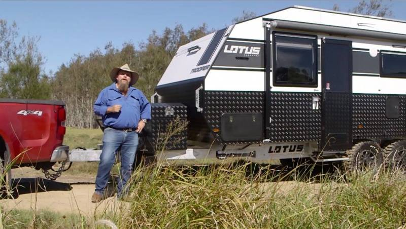 THE REEL LOTUS CARAVANS