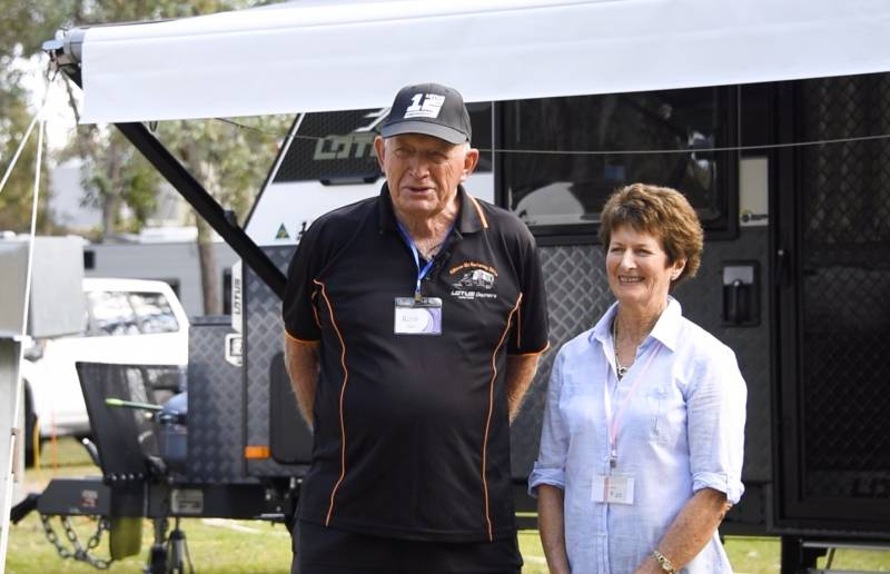 Lotus Caravan Owners: Ross & Shirley Dight