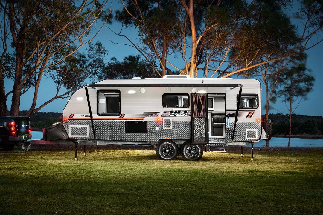 Range Off Limits Lotus Caravans